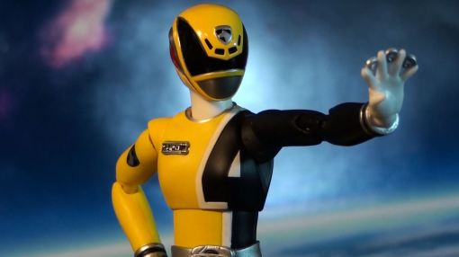 Bandai S.H. Figuarts Dekaranger Deka Yellow 06