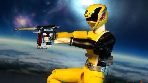 Bandai S.H. Figuarts Dekaranger Deka Yellow 07