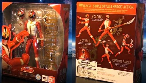 Bandai S.H.Figuarts Gosei Sentai Dairanger Ryuranger 01