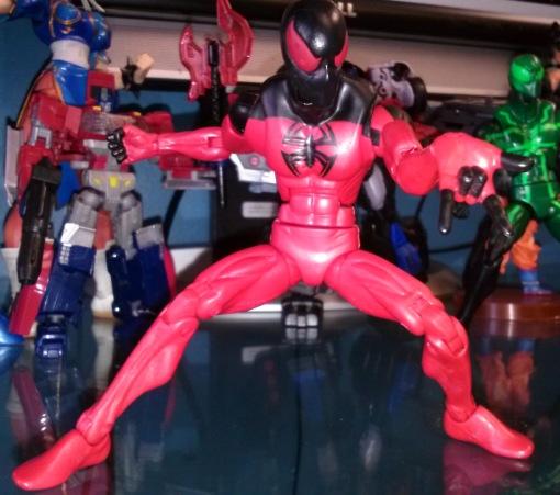 hasbro scarlet spider 08