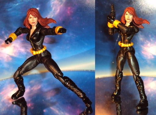 Hasbro Avengers Assemble black widow 03
