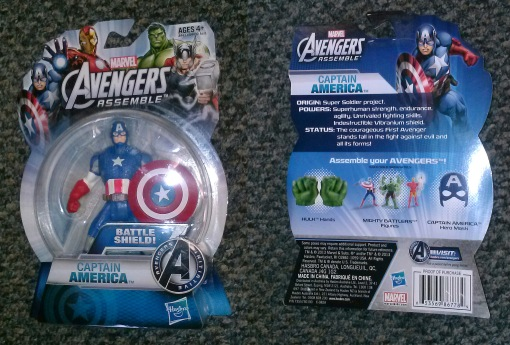 Hasbro Avengers Assemble All Star Captain America 01