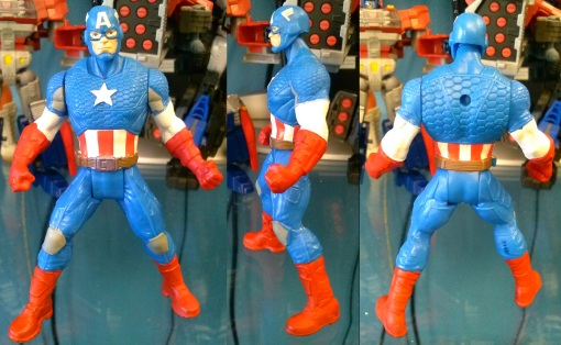 Hasbro Avengers Assemble All Star Captain America 02