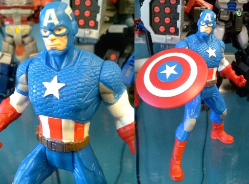 Hasbro Avengers Assemble All Star Captain America 05