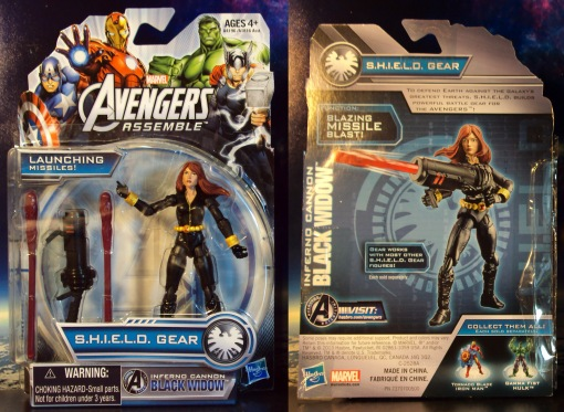 Hasbro Avengers Assemble black widow 01
