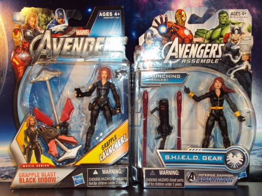 Hasbro Avengers Assemble black widow 02