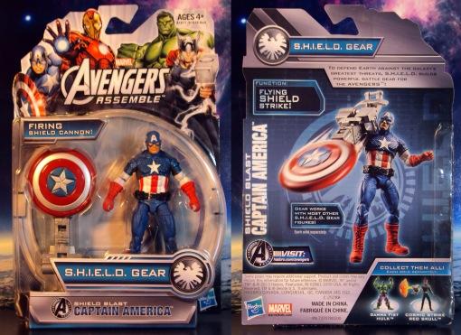 Hasbro Avengers Assemble Captain America 01