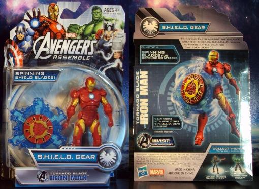 Hasbro Avengers Assemble Iron Man 01