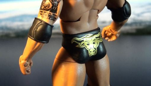 Mattel WWE Elite Series 22 The Rock Action 03