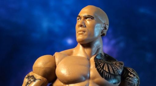 Mattel WWE Elite Series 22 The Rock Action 04