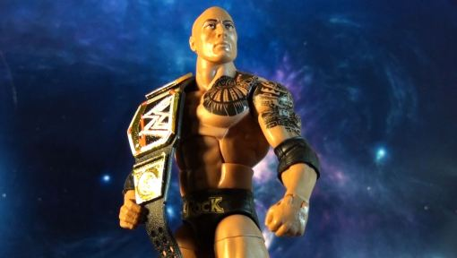 Mattel WWE Elite Series 22 The Rock Action 05