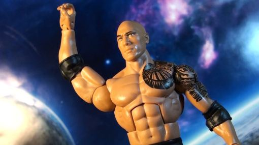 Mattel WWE Elite Series 22 The Rock Action 06