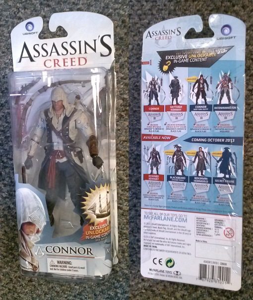 McFarlane Assassins Creed Connor 01