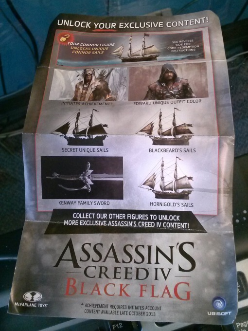 McFarlane Assassins Creed Connor 06