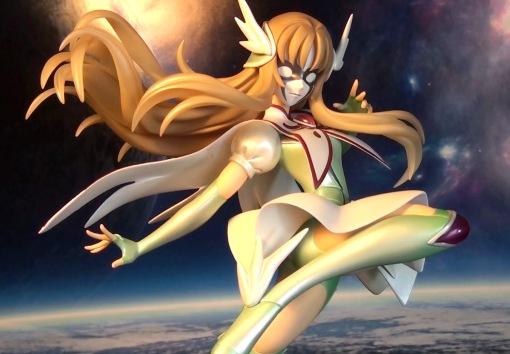 MegaHouse Saint Seiya Omega Aquila Yuna PVC Statue 04