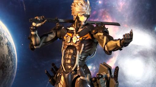 Square Enix Play Arts Kai Metal Gear Rising Revengeance Raiden 01