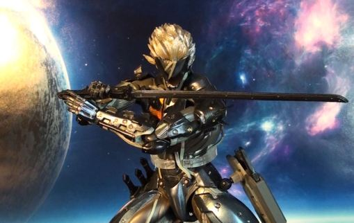 Square Enix Play Arts Kai Metal Gear Rising Revengeance Raiden 04