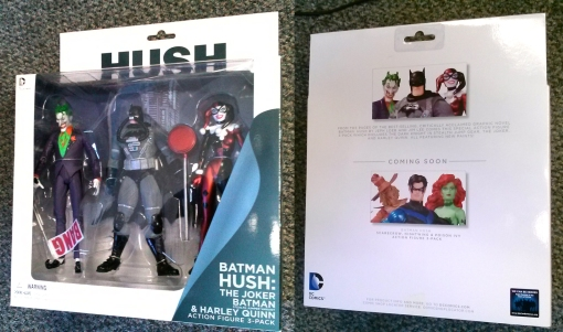 DC Collectibles Batman Hush 3-Pack 01