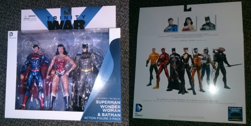 DC Collectibles Trinity War Superman Wonder Woman Batman 01