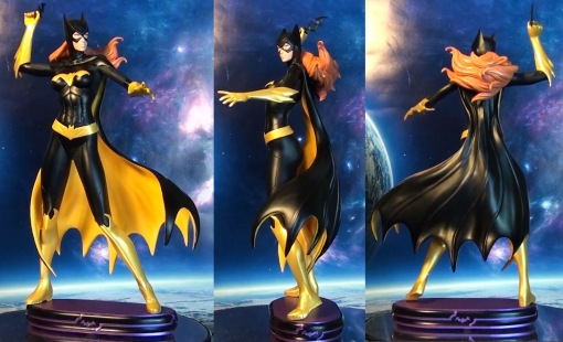 DC Collectibles Covergirls of the DCU Batgirl Statue 02
