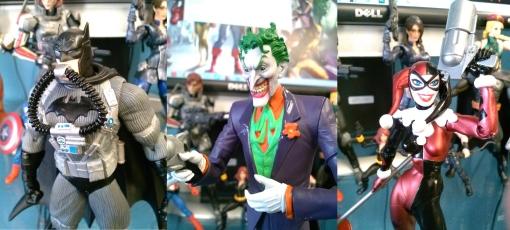 DC Collectibles Batman Hush 3-Pack  Close up
