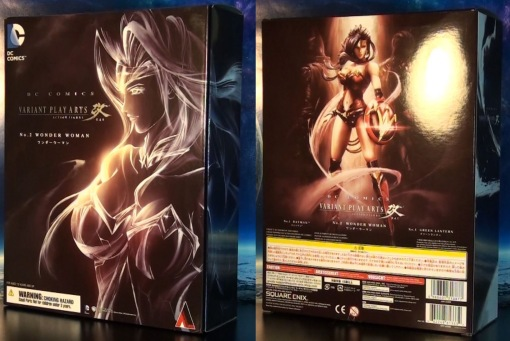 Square Enix Variant Play Arts Kai DC Comics Wonder Woman 01