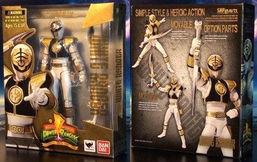 Bandai S.H. Figuarts Mighty Morphin Power Rangers White Ranger 01