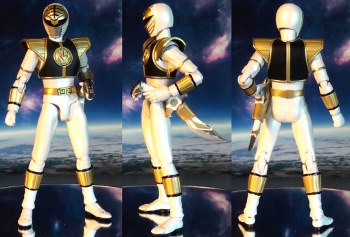 Bandai S.H. Figuarts Mighty Morphin Power Rangers White Ranger 02
