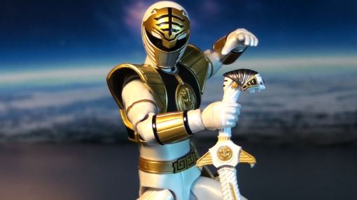 Bandai S.H. Figuarts Mighty Morphin Power Rangers White Ranger 04