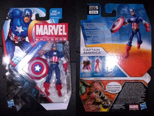Hasbro Marvel Universe Captain America 2013 01