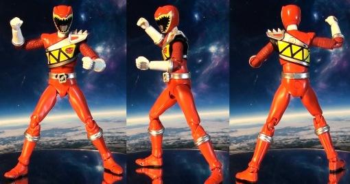 Bandai S.H. Figuarts Kyoryuger Kyoryu Red 02