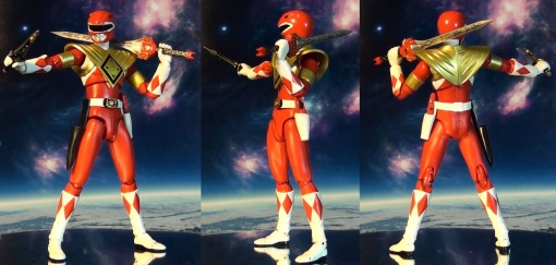 Bandai S.H. Figuarts Mighty Morphin Power Rangers Amored Red Ranger 02
