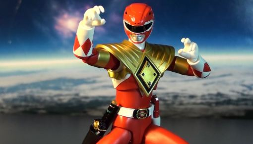 Bandai S.H. Figuarts Mighty Morphin Power Rangers Amored Red Ranger 03