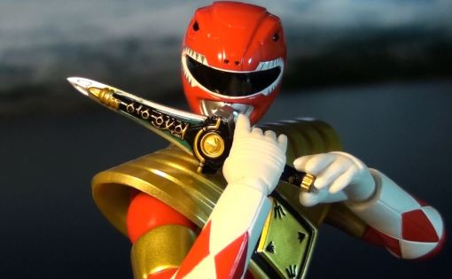 Bandai S.H. Figuarts Mighty Morphin Power Rangers Amored Red Ranger 04