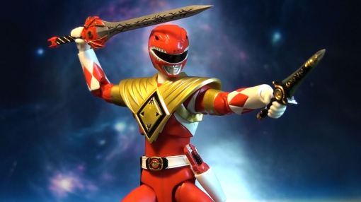 Bandai S.H. Figuarts Mighty Morphin Power Rangers Amored Red Ranger 05