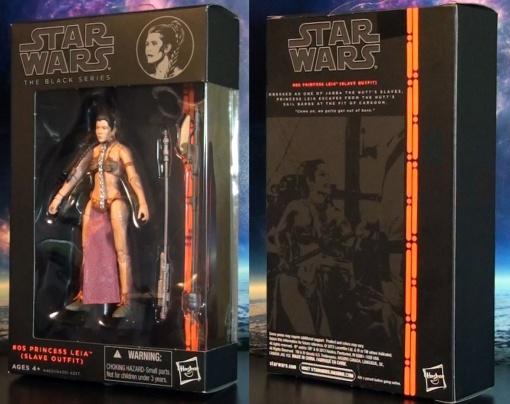 Hasbro Stars Wars Black Series Princess Leia Slave Outfit 01