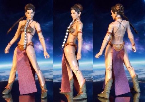 Hasbro Stars Wars Black Series Princess Leia Slave Outfit 02