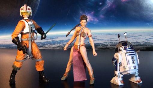 Hasbro Stars Wars Black Series Princess Leia Slave Outfit 03