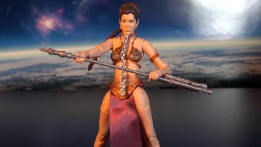 Hasbro Stars Wars Black Series Princess Leia Slave Outfit 04