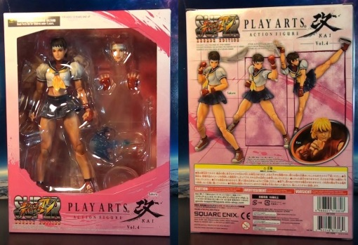 Square Enix Play Arts Kai Super Street Fighter IV 4 Sakura 01
