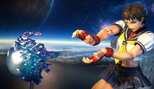 Square Enix Play Arts Kai Super Street Fighter IV 4 Sakura 04