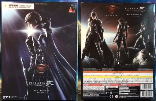 Square Enix Plays Arts Kai Man of Steel: Faora-Ul 01