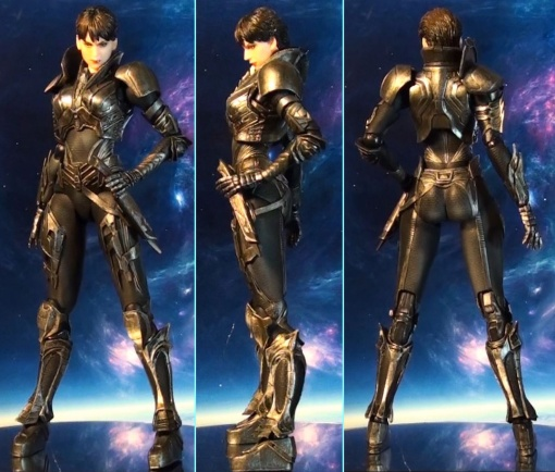 Square Enix Plays Arts Kai Man of Steel: Faora-Ul 02