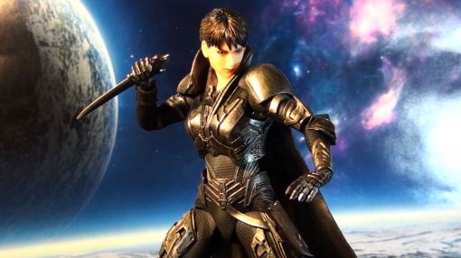 Square Enix Plays Arts Kai Man of Steel: Faora-Ul 03