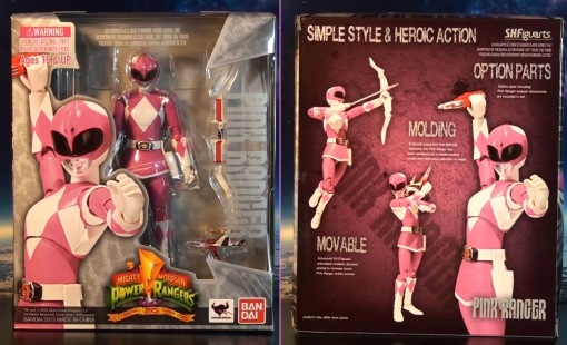 Bandai S.H. Figuarts Mighty Morphin Power Rangers Pink Ranger 01