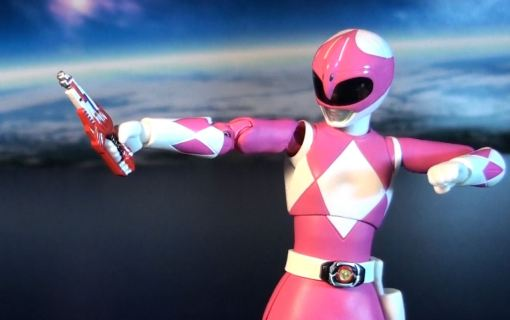 Bandai S.H. Figuarts Mighty Morphin Power Rangers Pink Ranger 04
