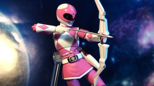 Bandai S.H. Figuarts Mighty Morphin Power Rangers Pink Ranger 07