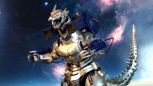 Bandai S.H. MonsterArts MFS 3 Mecha Godzilla 10