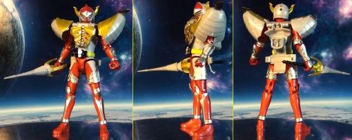 Kamen Rider Gaim Arms Change 02 Kamen Rider Baron 02