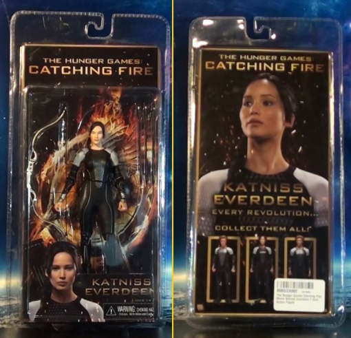 Neca Hunger Games Catching Figure Series 1 Katniss Everdeen 01